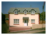 Front elevation of new build in St Austell, Cornwall